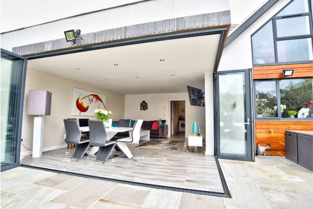 how secure are bifold doors